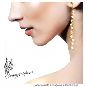 Sophisticated Pearls For Brides Earrings | Your choice:  Pierced or Clips