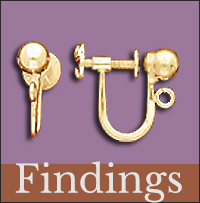 Find Clip Earring Findings