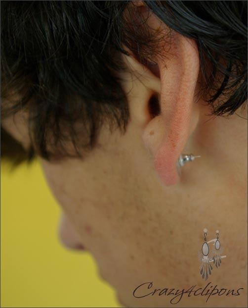 Magnetic Stud Non Pierced Single Earring For Men Guys Crazy4clipons
