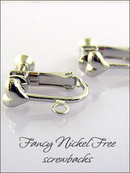 Clip Earrings: Fancy Nickel Free Parts