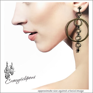 Bronze Hoop Mania Earrings