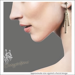 Bendable Sticks Clip On Earrings