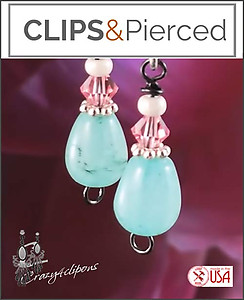 Sweet Petite Jelly Beans Earrings | Your choice: Pierced or Clips
