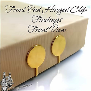 Front Pad - Hinged Clip Findings