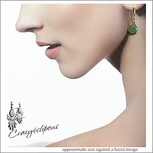Basic Everyday Teardrop Earrings | Your choice: Pierced or Clips