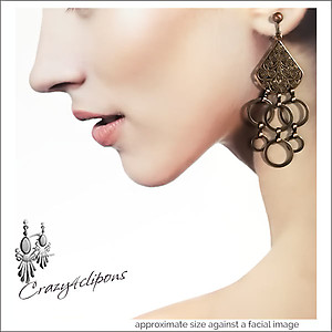 Filigree & Hoops Dangling Earrings
