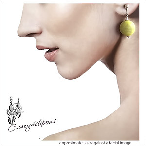 Light Summer Earrings| Pierced & Clip Ons