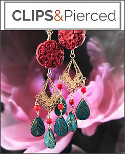 Bold & Unique. Long Chandelier Earrings