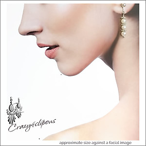 Trio of Pearls Earrings | Your choice: Pierced or Clip on