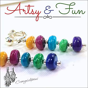 Yummy & Fun. Skittle Candy Earrings | Your choice:  Pierced or Clip on