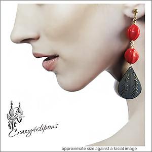 Eclectic Dangling Colorful Earrings