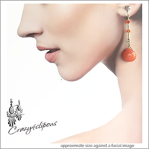 Retro Design w/ Liquid Silver Earrings | Your choice:  Pierced or Clip on