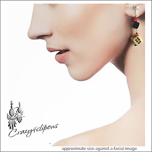 Charming Las Vegas Dice Earrings | Your choice:  Pierced or Clip on