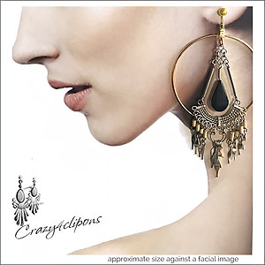 Large, Bold and Beautiful Dangling Earrings