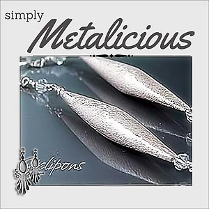 Long & Elegant Brushed Silver Earrings | Your choice:  Pierced or Clips