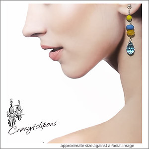 California Girls: Summer Ready Earrings | Your choice:  Pierced or Clips