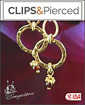 Gold Filled Hoop Earrings | Your choice: Pierced or Clips