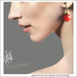 Halloween: Colorful Gumball Earrings | Your choice:  Pierced or Clips