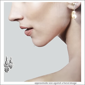 Classic Double Pearls Earrings | Your choice:  Pierced or Clip on