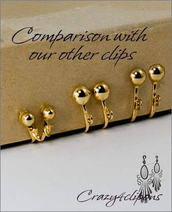 Clip Earrings Findings: Mini Clips For Adults