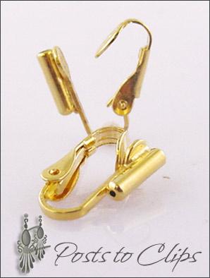 Clip Earrings Findings Converters Parts
