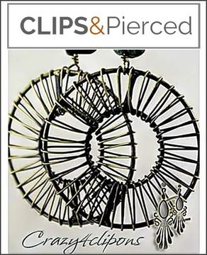 Metal Bold Wired Large Hoop Earrings | Pierced & Clips