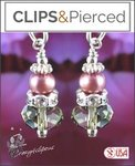 Sweet Pink Pearl Earrings | Your choice:  Pierced or Clips