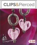 Heart of a Survivor Earrings #ThinkPink | Your choice:  Pierced or Clips