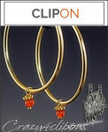 Everyday Clips Gold Hoops | 2 Looks / 1 Price